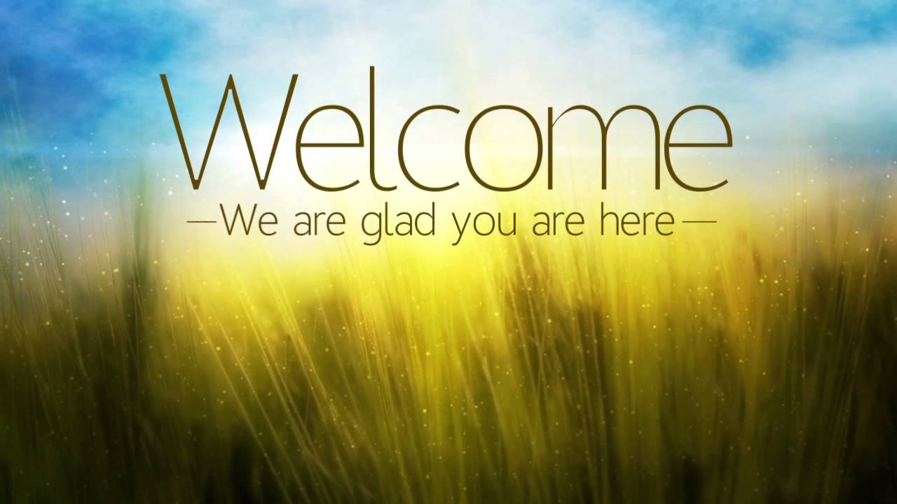 Welcome to the worship community of CCBC.